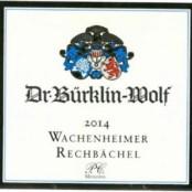 2015 Bürklin Wolf Wachenheimer Rechbächel Riesling Premier cru