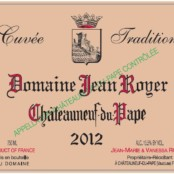 2014 Jean Royer Chateauneuf du Pape Tradition