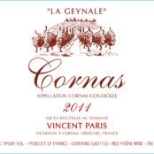2016 Vincent Paris Cornas la Geynale