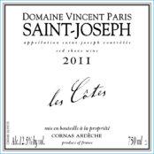 2016 Vincent Paris Saint Joseph Les Cotes