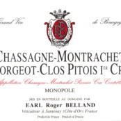 2015 Roger Belland Chassagne Montrachet 1er cru Clos Pitois rouge