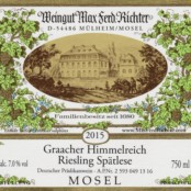 2015 Richter Graacher Himmelreich Spatlese