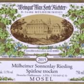 2015 Richter Mullheimer Sonnenlay Spatlese trocken