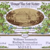 2015 Richter Wehlener Sonnenuhr Beerenauslese 375ml