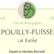 2015 Daniel Barruad Pouilly Fuissé Sur la Roche