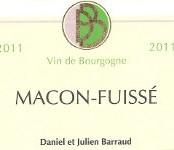 2015 Daniel Barraud Macon Fuissé