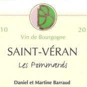 2014 Daniel Barraud St Veran les Pommards