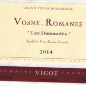 2014 Fabrice Vigot Vosne Romanée les Damaudes
