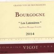 2015 Fabrice Vigot Bourgogne les Lutenières