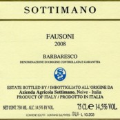 2014 Sottimano Barbaresco Fausoni