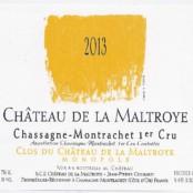 2015 Chateau de la Maltroye Chassagne Montrachet 1er Clos du Chateau blanc