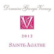 2015 Georges Vernay Cotes du Rhone Sainte Agathe