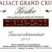2016 Dirler Cadé Gewurztraminer Kessler Grand cru