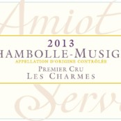 2015 Amiot Servelle Chambolle Musigny 1er Charmes