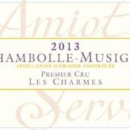 2015 Amiot Servelle Chambolle Musigny 1er Charmes