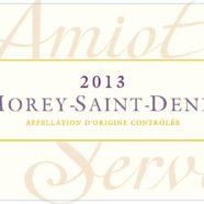 2015 Amiot Servelle Morey St Denis villages