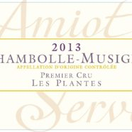 2015 Amiot Servelle Chambolle Musigny 1er Plantes