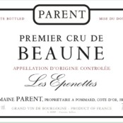 2015 Parent Beaune 1er cru Epenottes