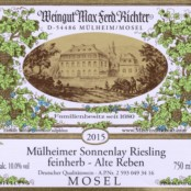 2016 Richter Mullheimer Sonnenlay Feinherb Alte Reben