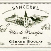 2016 Gerard Boulay Sancerre Clos de Beaujeu Magnum