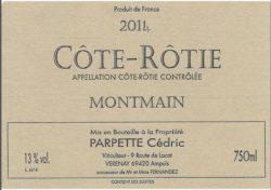 2015 Cedric Parpette Cote Rotie Montmain