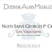 2014 Alain Michelot Nuits St Georges 1er cru Vaucrains