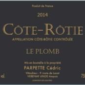 2016 Cedric Parpette Cote Rotie le Plomb