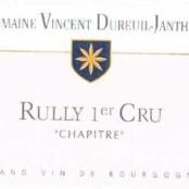 2015 Vincent Dureuil Janthial Rully 1er cru Chapitre rouge