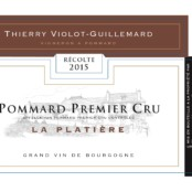 2015 Violot Guillemard Pommard 1er Platiere