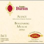 2016 Agathe Bursin Bollenberg Muscat