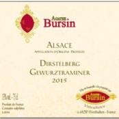 2016 Agathe Bursin Dirstelberg Gewurztraminer