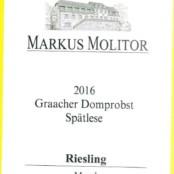 2016 Markus Molitor Graacher Domprobst Spatlese White Capsule