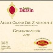 2016 Agathe Bursin Zinnkoepfle Gewurztraminer Grand cru