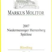 2007 Markus Molitor Niedermenniger Herrenberg Spatlese Gold Capsule