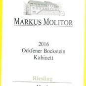 2016 Markus Molitor Ockfener Bockstein Kabinett Green Capsule