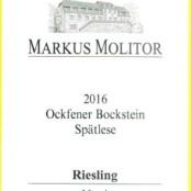 2016 Markus Molitor Ockfener Bockstein Spatlese White Capsule