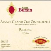 2016 Agarte Bursin Zinnkoepfle Riesling Grand cru