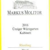 2016 Markus Molitor Urziger Wurzgarten Kabinett Gold Capsule