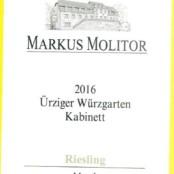 2016 Markus Molitor Urziger Wurzgarten Kabinett Green Capsule