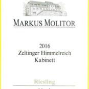 2016 Markus Molitor Zeltinger Himmelreich Kabinett Green Capsule