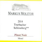 2011 Markus Molitor Trarbacher Schlossberg Pinot Noir
