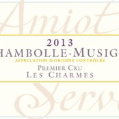 2016 Amiot Servelle Chambolle Musigny 1er Charmes