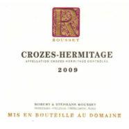 2016 Rousset Crozes Hermitage rouge