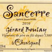 2017 Gerard Boulay Sancerre blanc