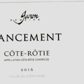 2016 Garon Cote Rotie Lancement