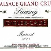 2016 Dirler Cade Muscat Saering Grand cru